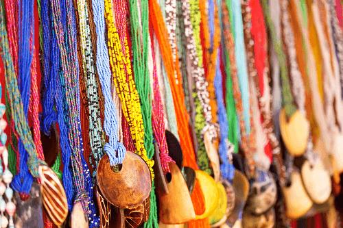Ein markt in Sansibar
