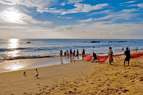 wunderschöne Strände in Sri Lanka