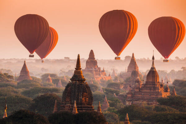 Thailand & Myanmar Kombireisen
