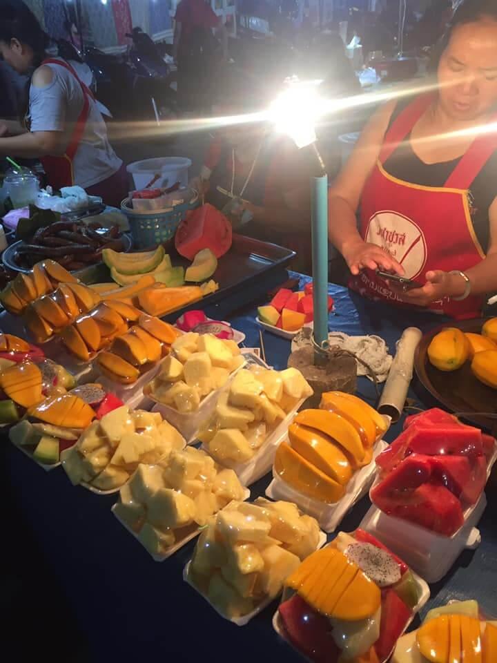 Luang Prabang Fruits Market