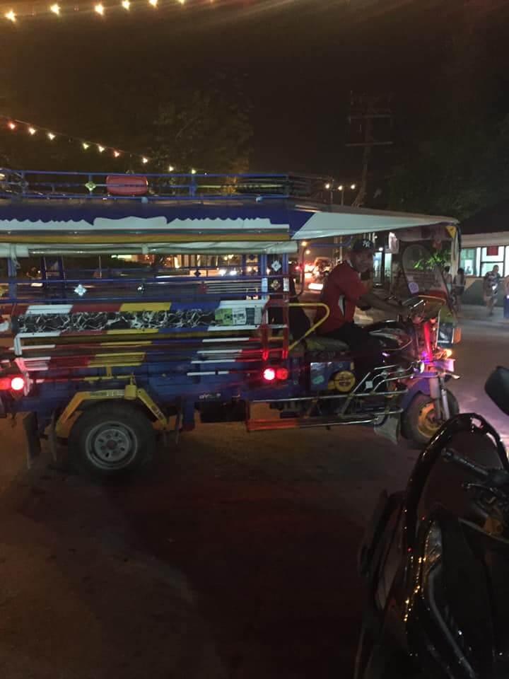 Luang Prabang Market Bus