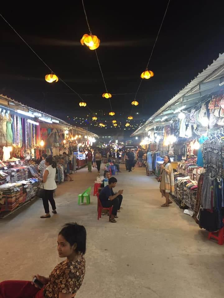 Siem Reap, Cambodia. Night Market