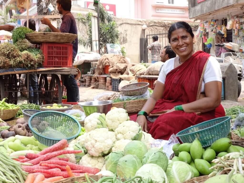 Goa entdecken - Marktplätze Indienreise Asia Live Fernreisen